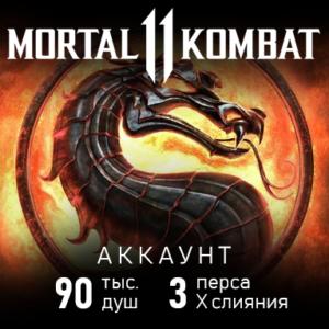 Купить аккаунт MK Mobile 90 тыс душ, 3 персонажа
